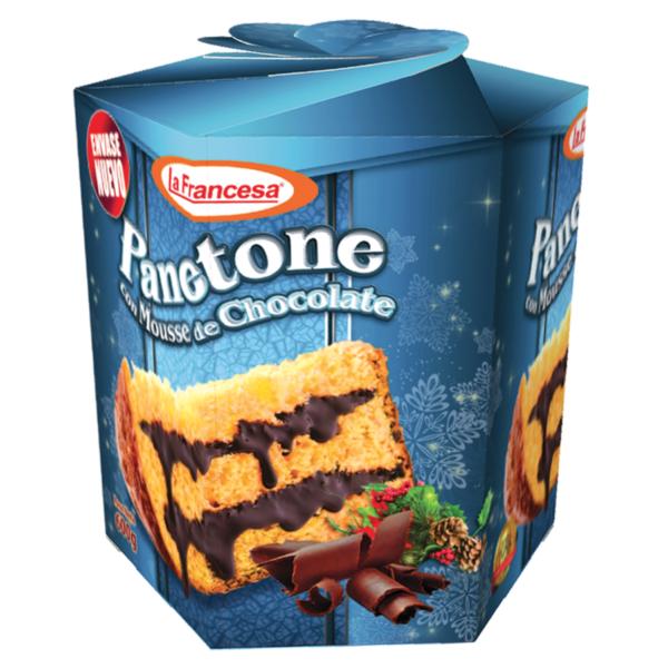 Paneton mousse chocolate
